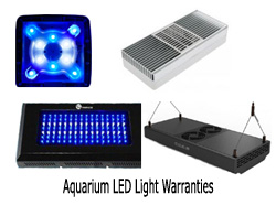Aquarium LED Light Warranty